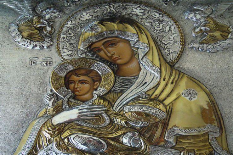 Παρακλητικός Κανών στην Παναγία Δ´ Χαιρετισμοί στην Παναγία