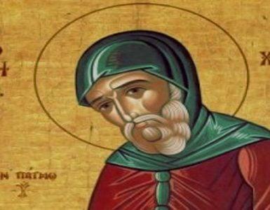 Όσιος Χριστόδουλος ο εν Πάτμω
