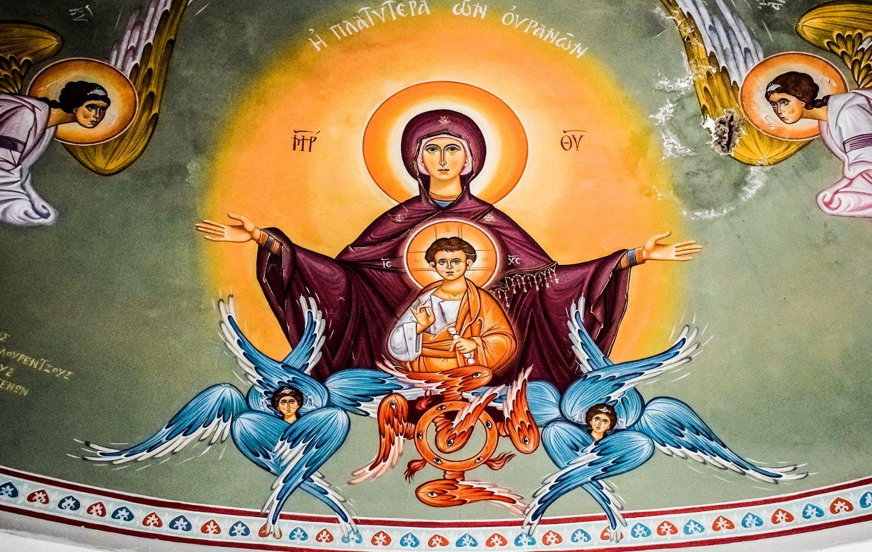 Ευαγγελισμός Θεοτόκου Άγιος Παΐσιος για την Παναγία Παρθένος Μαρία Παναγία η Χώρα του Αχωρήτου