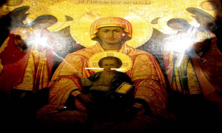 Φανερωμένη Παναγία Φανερωμένη Λευκάδος