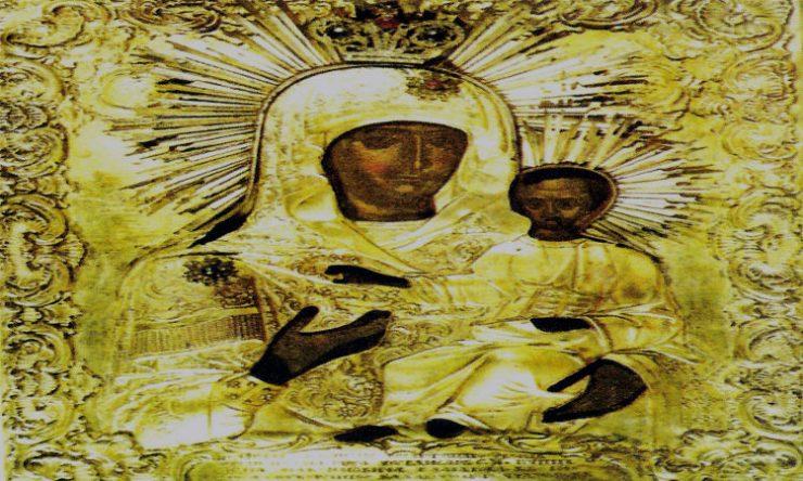 Παναγία του Ακαθίστου Μονής Χιλανδαρίου