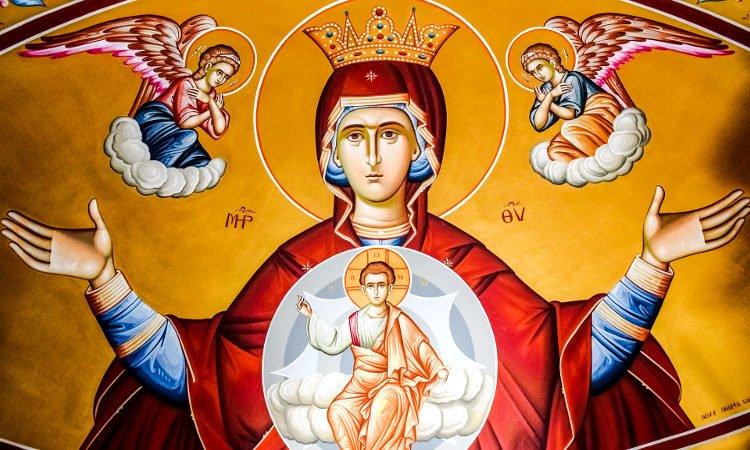 Προσευχή εις την Υπεραγίαν Θεοτόκον Ευαγγελισμός Θεοτόκου