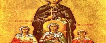 Αγία Σοφία και οι τρεις θυγατέρες της Πίστη, Ελπίδα, Αγάπη