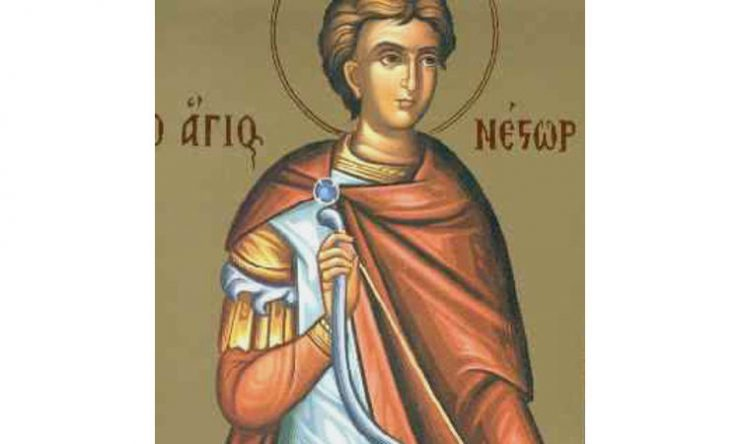 Άγιος Νέστωρ ο Μάρτυρας