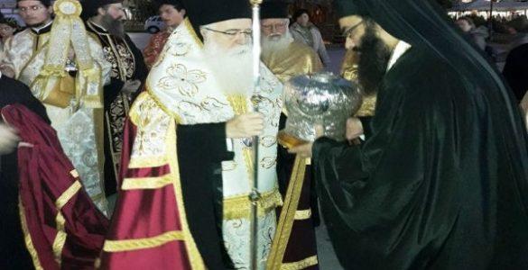 Υποδοχή Τιμίας Κάρας Αγίου Νικολάου Πλανά στον Βόλο