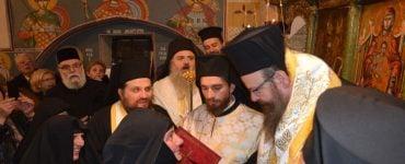 Ενθρόνιση Καθηγουμένης στην Ιερά Μονή Αγίου Νικολάου