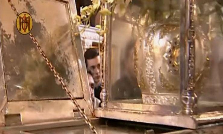 Το θαύμα του μύρου του Αγίου Δημητρίου
