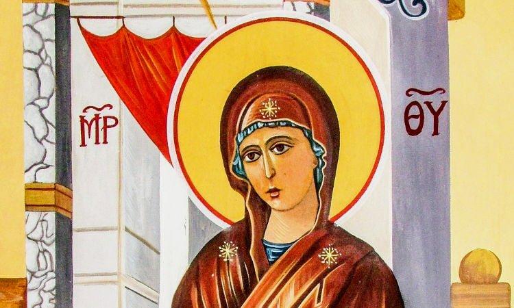 Χωρίς την Παναγία Παναγία η μητέρα όλων μας