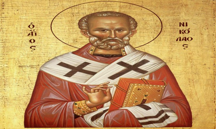 Παρακλητικός Κανών Αγίου Νικολάου Αρχιεπισκόπου Μύρων