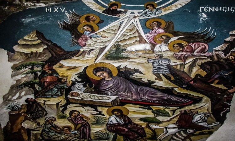 Ποντιακά Κάλαντα Χριστουγέννων Ο Χριστός ήλθε στον κόσμο