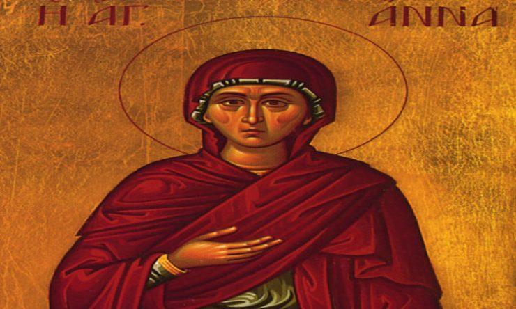 Θαύμα Αγίας Άννας - Η βλαστήμια του μαθητή