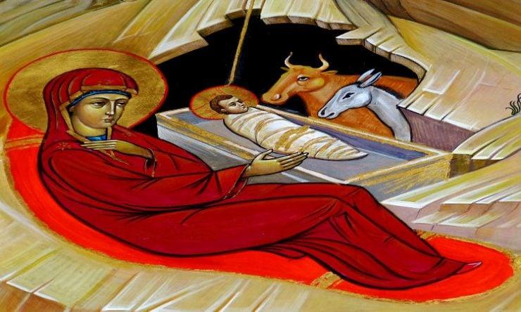 Χριστουγεννιάτικη Εκδήλωση στη Μητρόπολη Νέας Ιωνίας Βυζαντινά Κάλαντα Χριστουγέννων Σύναξη της Υπεραγίας Θεοτόκου