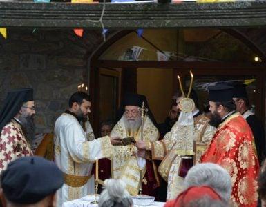 Η Εορτή Αγίου Θεοδώρου του Τήρωνος στην Ελευθερούπολη