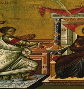 Πανήγυρις Ευαγγελισμού της Θεοτόκου Ευόσμου