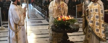 Κυριακή Γ΄ Νηστειών στην Παναγία Ευαγγελιστρία στην Παλλουριώτισσα