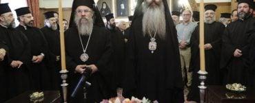 Διαβεβαίωση των νέων Επισκόπων Θεσπιών και Ανδρούσης