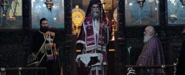 Προηγιασμένη Θεία Λειτουργία στη Μητρόπολη Άρτης