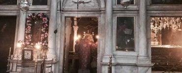 Λειτουργία στον Άγιο Σπυρίδωνα Κέρκυρας