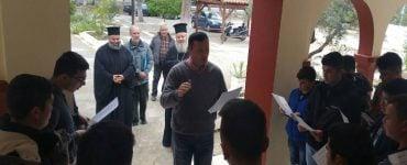 Τα κάλαντα του Λαζάρου στον Κυδωνίας Δαμασκηνό