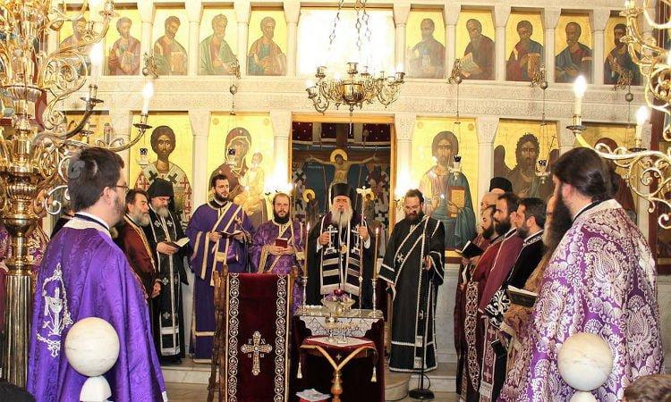 Αρχιερατικό Ευχέλαιο στον Άγιο Ελευθέριο Σταυρουπόλεως