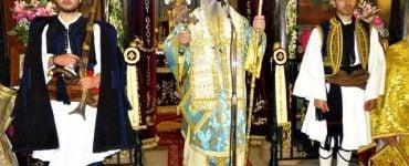 εορτασμός του Ευαγγελισμού της Θεοτόκου στη I.M. Σπάρτης