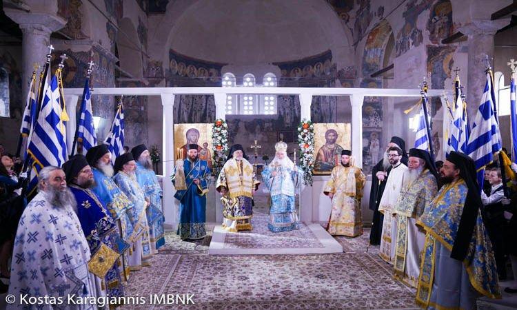 Εορτή Ευαγγελισμού της Θεοτόκου στη Μητρόπολη Βεροίας