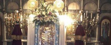 Υποδοχή Εικόνας Αγίου Ιωάννου από Κατούνια στην Χαλκίδα