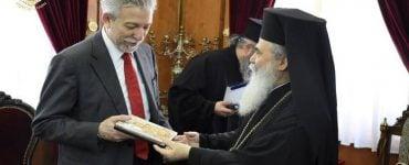 Ο Υπουργός Δικαιοσύνης στο Πατριαρχείο Ιεροσολύμων