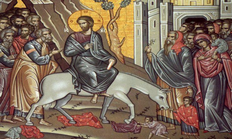 Προ εξ ημερών του Πάσχα Πανηγύρις της Ελιάς (Βαΐων) στην Περιστερώνα