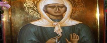 Η Αγία Ματρώνα η Αόμματη στο Αγιολόγιο της Ορθοδόξου Εκκλησίας της Ρουμανίας Οσία Ματρώνα η Ρωσίδα η αόμματος