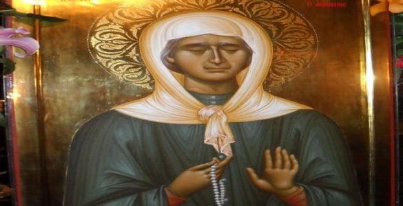 Η Αγία Ματρώνα η Αόμματη στο Αγιολόγιο της Ορθοδόξου Εκκλησίας της Ρουμανίας