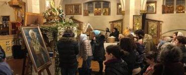Ο Μητροπολίτης Αργολίδος στον Άγιο Νεκτάριο στο Λονδίνο