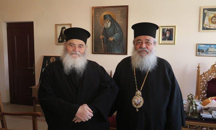 π. Γερβάσιος Ραπτόπουλος στη Μητρόπολη Φθιώτιδος