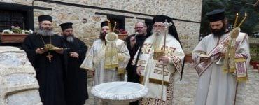 Πασχάλια Ιερατική Συνάντηση στην Παναγία Μαυριώτισσα Καστοριάς
