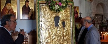 Η «Γύρα» της Παναγίας της Μυρτιδιώτισσας