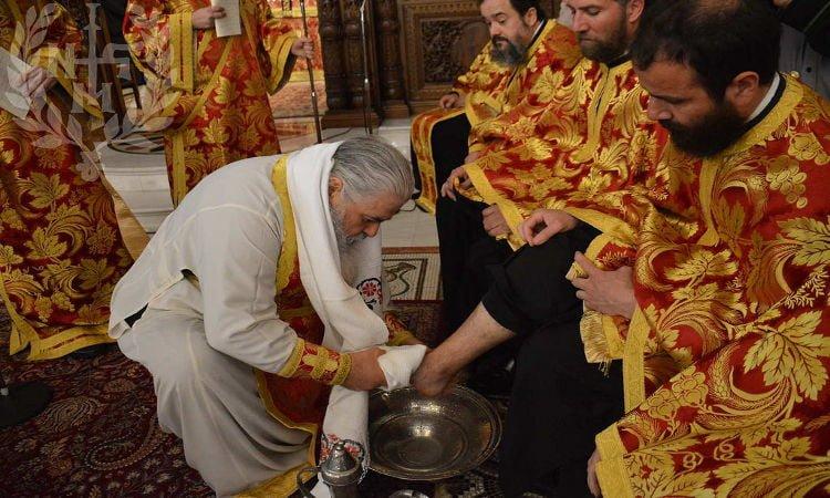 Ακολουθία Ιερού Νιπτήρος στη Νεάπολη Θεσσαλονίκης