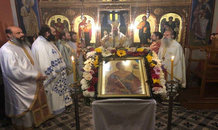 Η εορτή του Αγίου Νεομάρτυρος Δημητρίου στην Ι.Μ. Πατρών