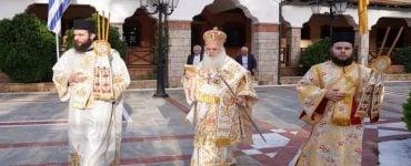 Πανηγυρίζει η Ιερά Μονή Παναγίας Δοβρά στη Βέροια
