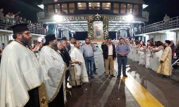 Η Εορτή της Παναγίας Παραβουνιώτισσας στην Ερέτρια