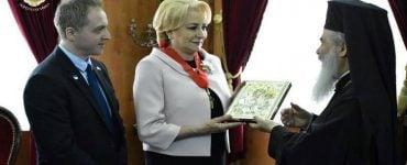Η πρωθυπουργός της Ρουμανίας επισκέφτηκε το Πατριαρχείο Ιεροσολύμων