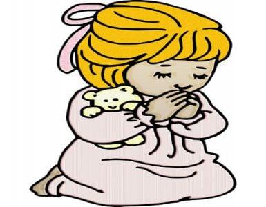 Βραδινή προσευχή για παιδιά