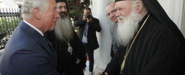 Ο Πρίγκιπας Κάρολος στον Αρχιεπίσκοπο Ιερώνυμο