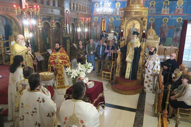 Η Εορτή του Αγίου Χριστοφόρου στα Καμένα Βούρλα
