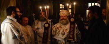 Πλήθος κόσμου στην Αγρυπνία της Αγίας Ειρήνης στο Επισκοπείο Μάνης