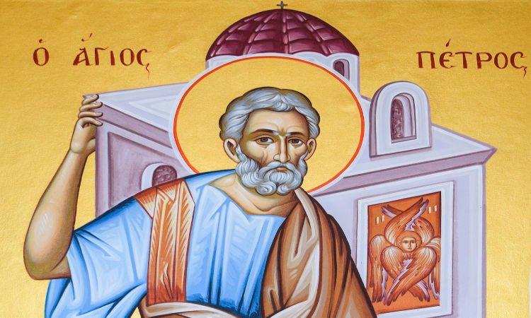 Απόστολος Πέτρος Η προσευχή με την πίστη φέρνουν το θαύμα!