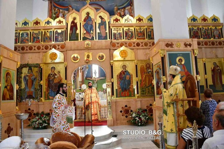 Το Ναύπλιο τίμησε τον Άγιο Λουκά τον ιατρό