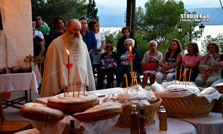 Γιορτάζει το ιστορικό εκκλησάκι Αγίων Αποστόλων Ναυπλίου