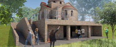 Ανοικοδόμηση Ιερού Ναού Οσίου Παϊσίου στην Ι.Μ. Φθιώτιδος