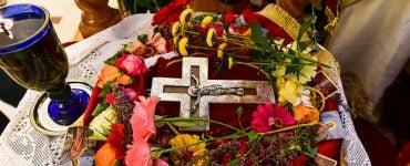 Ο Τίμιος Σταυρός στο Λαγκαδά