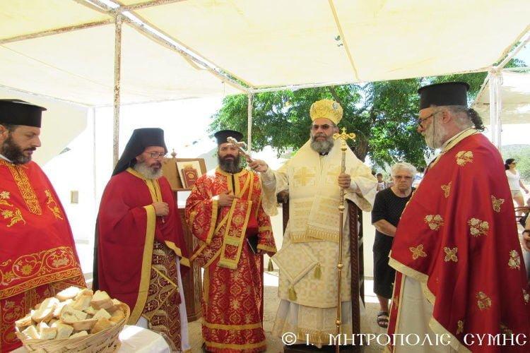 Ο Εορτασμός στο Βήμα του Αποστόλου Παύλου στο Σεσκλί